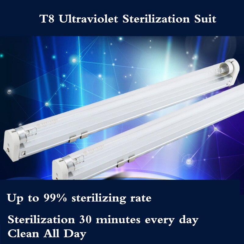 T8 nacionales germicida lámpara 10 W 15 W hogar desinfección UV lámpara TUV lámpara ultravioleta lámpara de cuarzo para la desinfección