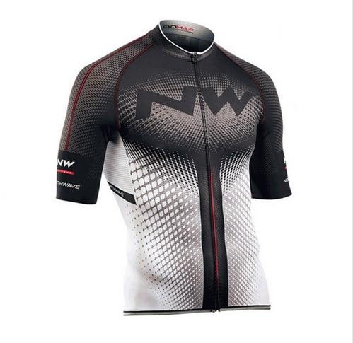 NW 2018 Maillot Hauts D'été Racing Vêtements de Cyclisme Ropa Ciclismo Manches Courtes vtt Vélo Maillot Chemise Maillot Ciclismo