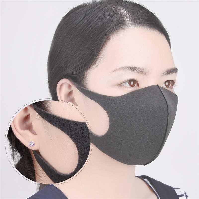 masque anti polution noir