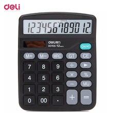 Deli электронный научный калькулятор офисный 12 цифр реальный