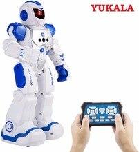 Uzaktan Kumanda Akıllı Robot Gesture Algılama Programlama Şarj Çocuk Dans Robot Mücadele Defentor Boys Hediye Oyuncaklar