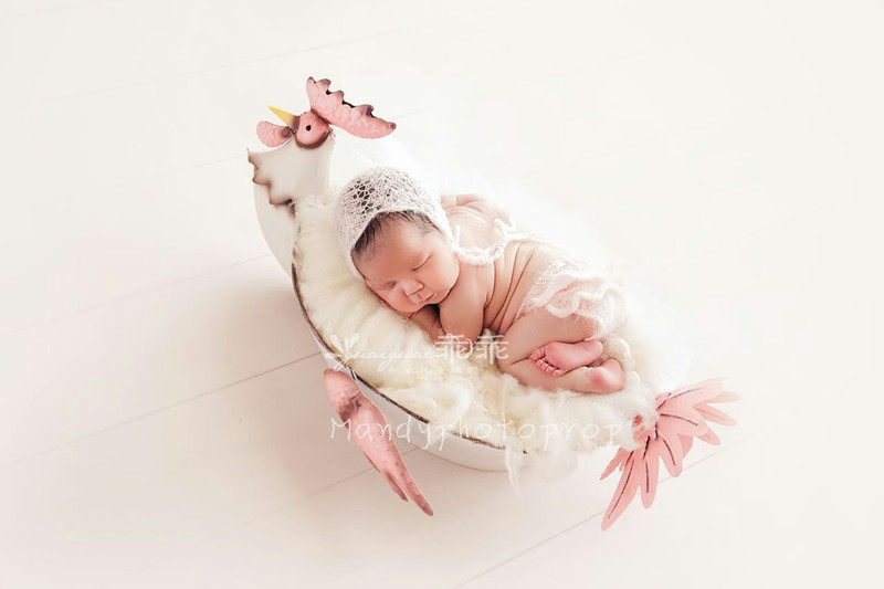 Newborn Romper With Matching Hat Photo Props newborn clothes newborn dress Baby Girl Pink Mohair Lace Romper Photograpy Props
