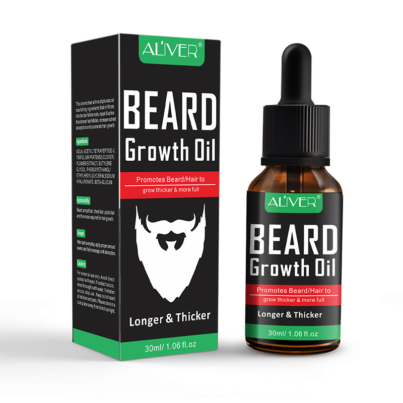 Natural Organic Beard Liquid Beard Growth Conditioner Grooming Moisturizing Moustache Care Men Beard Care Aftershave Water 5