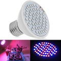 WHOSEE Full Spectrum Hydroponics 6W 60LED E27 Grow Light Bulb Lamp for Flower,Plant,Vegetable Growing