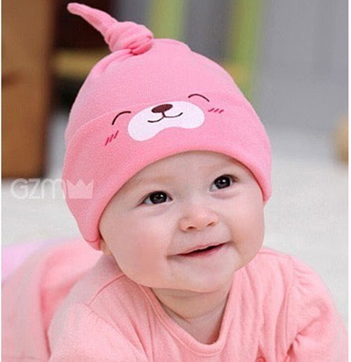 high quality newborn baby hat baby cotton caps cute baby hats baby sleeping  hat caps infant hats for boys and girls-in Hats   Caps from Mother   Kids  on ... 3e70acbfe62
