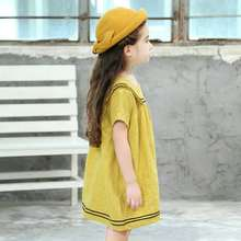 db90857e54c6e Buy yellow sailor dress and get free shipping on AliExpress.com
