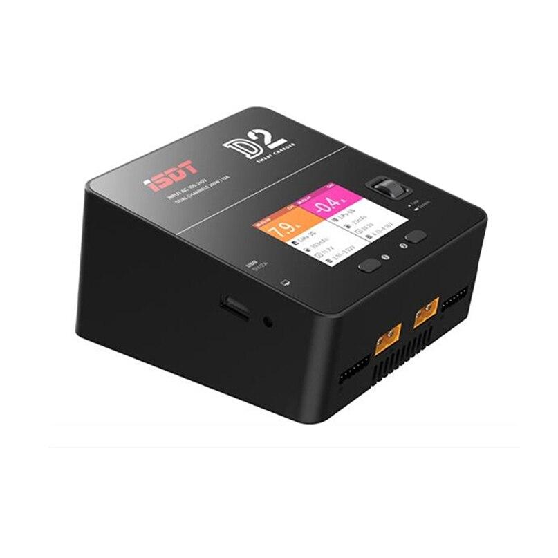 ISDT D2 200 W 20A AC double canal sortie batterie intelligente Balance Lipo chargeur pour RC Multicopter modèles li-po batterie