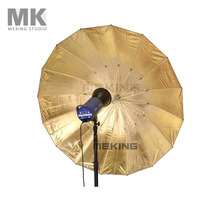 Selens Photo Studio Lighting Umbrella (Fibre Frame) 152.4cm 60″ Black&Gold for photography fotografia