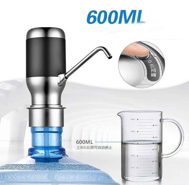 Диспенсер бутылки воды насос с Перезаряжаемые Батарея посуда аксессуары Бутылку Воды Drinkware инструменты