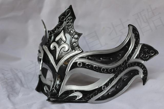 Gladiator Venetian Roman Men Half Face Mask