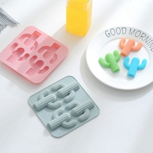 DIY Desert Cactus Cakes Molds Silicone Mold Fondant Cake Chocolate Soap Candy Biscuit Sugar Baking Kitchen Accessories