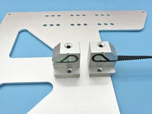 Image 4 - Swmaker kit de atualização de cinto para impressora 3d, 2 peças, anet a6/a8, kit de suporte de liga de alumínio de metal conjunto de tensão