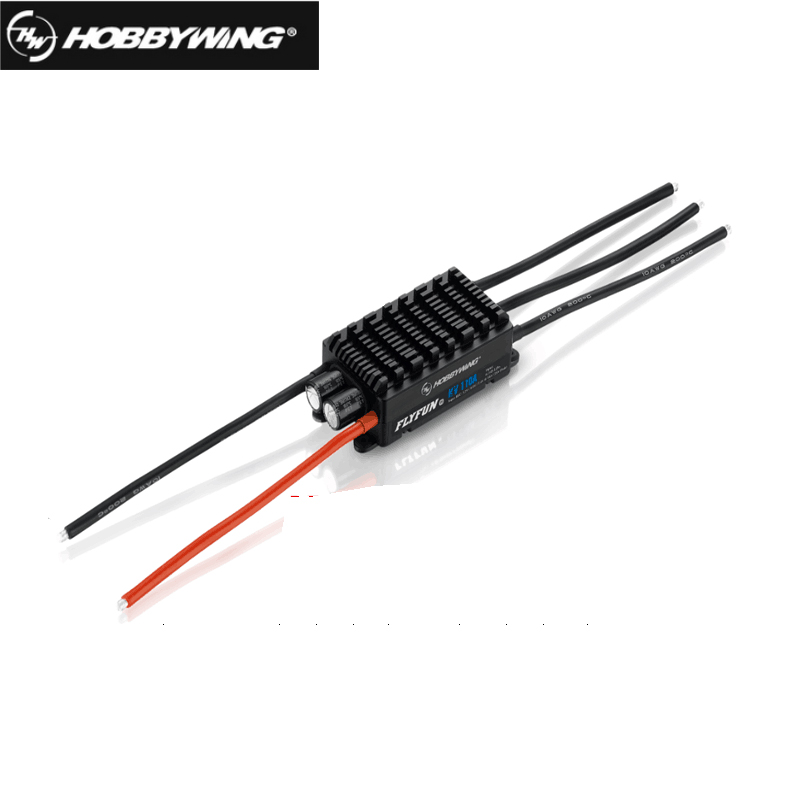 FATJAY  Hobbywing FlyFun 110A HV V5 6-14S brushless Electric Speed Control ESC SBEC or OPTO for RC Aircraft AirplaneFATJAY  Hobbywing FlyFun 110A HV V5 6-14S brushless Electric Speed Control ESC SBEC or OPTO for RC Aircraft Airplane