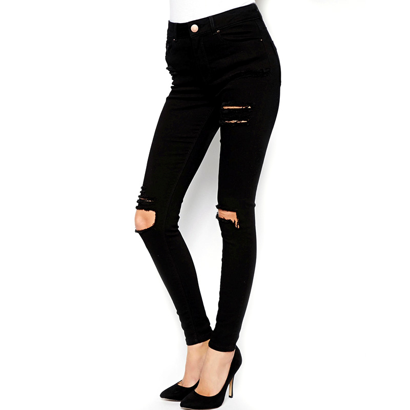 Online Get Cheap Black High Waisted Skinny Jeans -Aliexpress.com