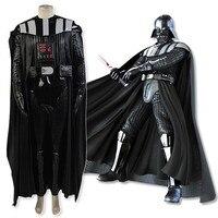 Звездные войны костюм Анакин Скайуокер Дарт Вейдер Косплэй костюм для взрослых Для мужчин джедай костюмы на Хэллоуин