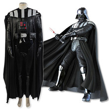Sky-walker Darth Halloween Leather Costume For Adults Man