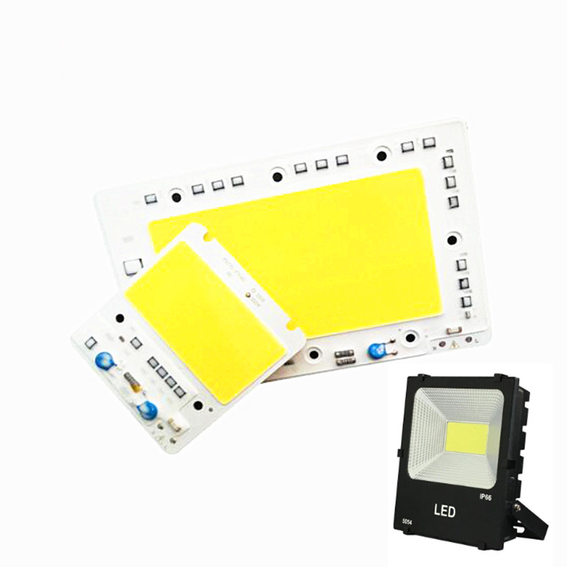 Led Lamp COB Diode Chip AC 220V Led Bulb Smart IC 50W 100W 150W DIY Outdoor FloodLight 200W LED Spotlight Floodlight Chip DIY ...