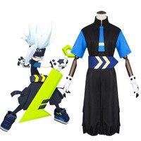 Anime Aotu World Cosplay Grey Daily Male Female Clothing Halloween Party Cosplay Costume Japanese Cartoon