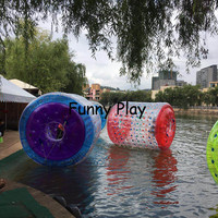 giant inflatable Hamster Water Game inflatable water balls walk water Inflatable roller ball For Kids And Adults