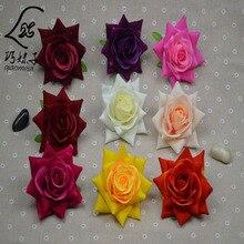 100 PCS/Bag New Big Size 14CM Diameter Top Quality Rose Flower Head Handmade DIY Wedding Home Decoration Jewelry Accessories