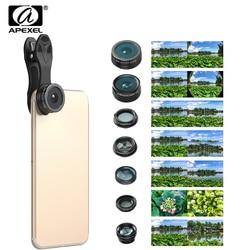 2017 7 in 1 phone lens kit fisheye fish eye super wide angle macro lens cpl.jpg 250x250