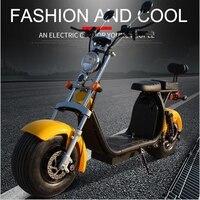 60 В 1500 Вт Электрический велосипед Harley взрослый автомобиль ebike батареи автомобиль электрические мотоциклы скутер литиевая Тележка колеса па