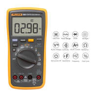 FLUKE Digital Multimeter Capacitor Tester Mini Multimeter Professional Current Voltage Meter Continuity Test Voltmeter Ammeter