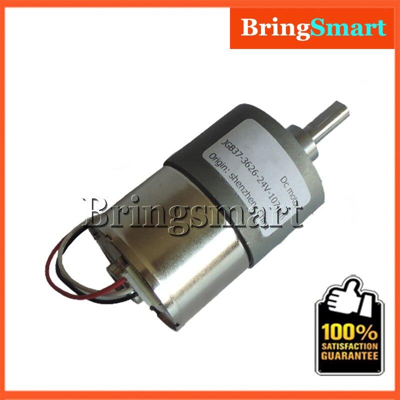 Bringsmart JGB37-3626 Brushless DC Gear 24V DC Reducer Motor High Speed Low Noise High Torque 0.87-60kg.cm 12V 24V Mini Motor цена