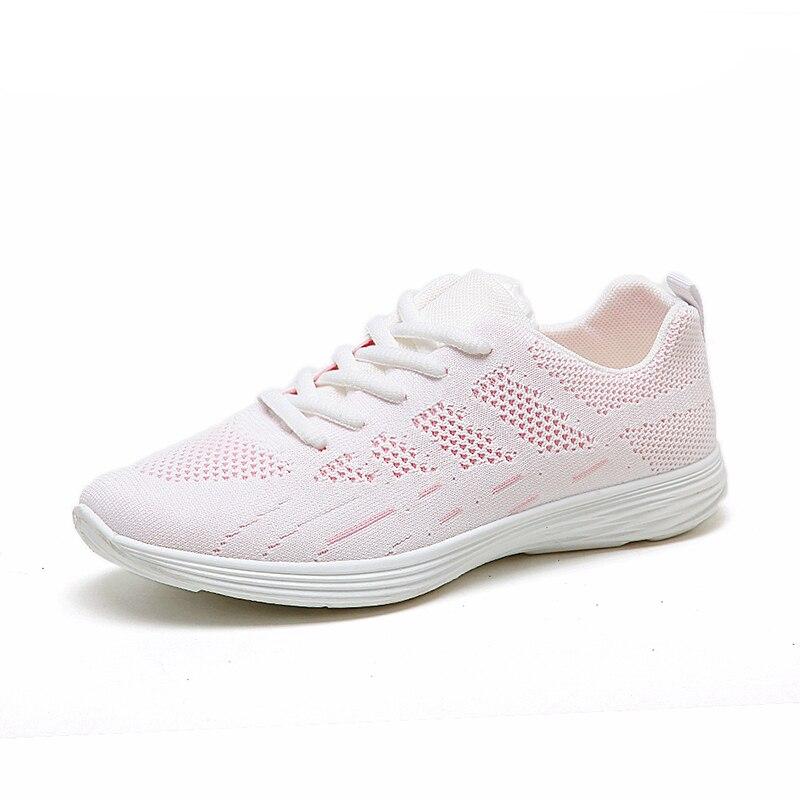 2017 de la marca de malla transpirable Verano zapatos de las mujeres de los holg