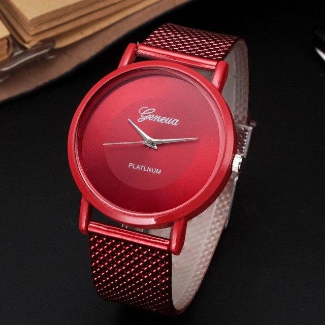 2019 классические женские часы силиконовый ремешок на запястье наручные часы с ремешком-сеткой ремешок Кварцевые повседневное часы женские часы Relogio Feminino подарок