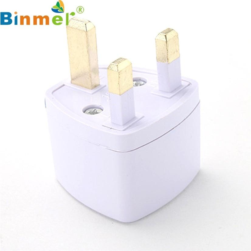 Binmer адаптер питания для путешествий, универсальный конвертер для США, ЕС, Австралии, Великобритании, HK, J08T