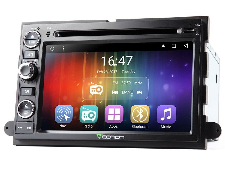 7 4 ядра ОС Android 7,1 nougat автомобильный DVD для Ford F150 2005 2008 с 2 Гб Оперативная память 16 Гб Встроенная память и Разделение Экран ровная многозадачен