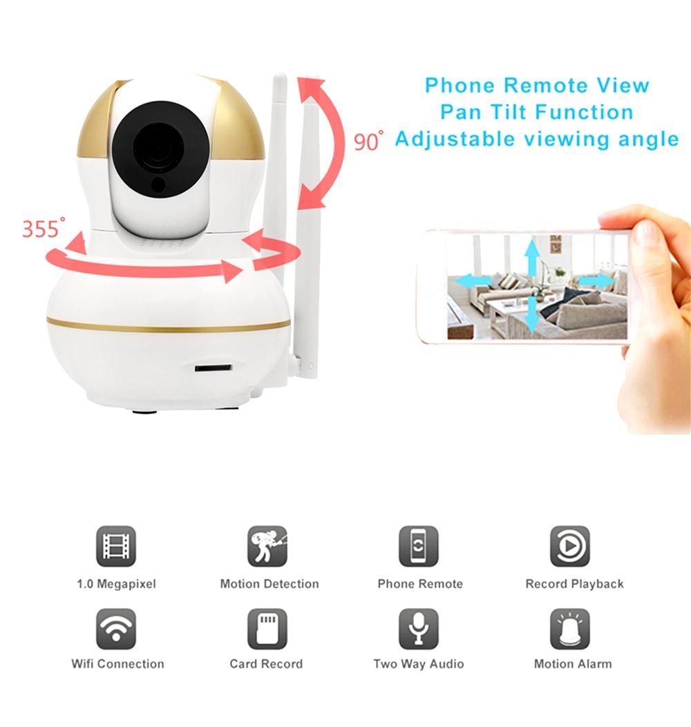 Wistino Alarm Systems Security WIFI IP Camera Security System Video Monitor Surveillance Camera Wireless Home Alarm System With Sensor Alarm Wifi kit Smart Home Camera (9)