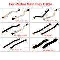 Placa principal flex cable para xiaomi redmi 1 s/2 s/2a/2/3/3 s/nota 2/nota 3/redmi pro placa usb y conector de la placa base