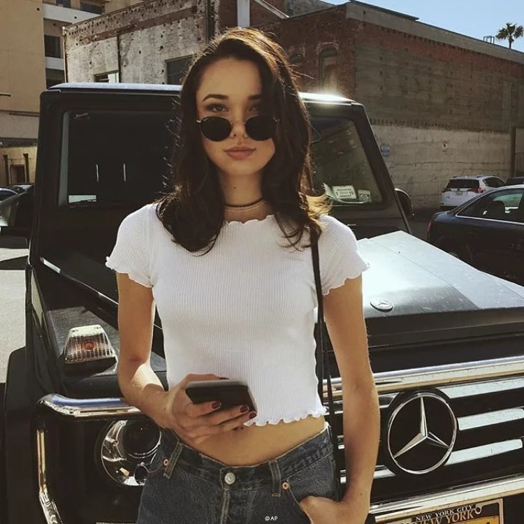 Vintage Wood ears O neck Short sleeve T-shirt 2018 New Woman Slim Fit t shirt tight tee Summer Retro Tops 6 colors 2