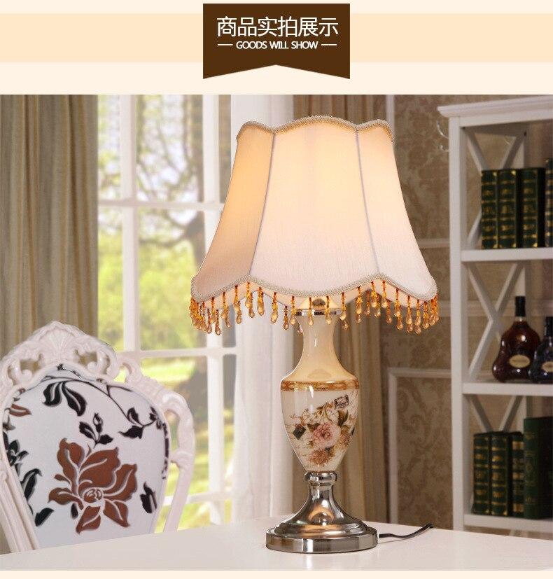 YOOK 34*58 см высоком Класс Стекло настольные лампы роскошный с ручной росписью цветок наклейки ваза Стекло настольные лампы для Гостиная спальня