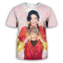 PLstar Cosmos Michael Jackson Macaulay Culkin T shirt hype vintage VTG retro T-shirt King of pop top tee God