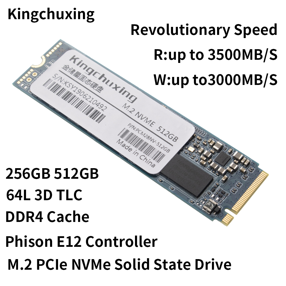 SSD M2 TB HDD 128GB 256GB 512GB 1 жесткий диск NVMe m.2 PCIe Solid State Drive de Disco Rígido drive para Computador por Kingchuxing