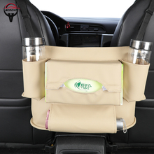Best quality car seat storage Armrest bag  back organizer cover Interior Accessories free ship