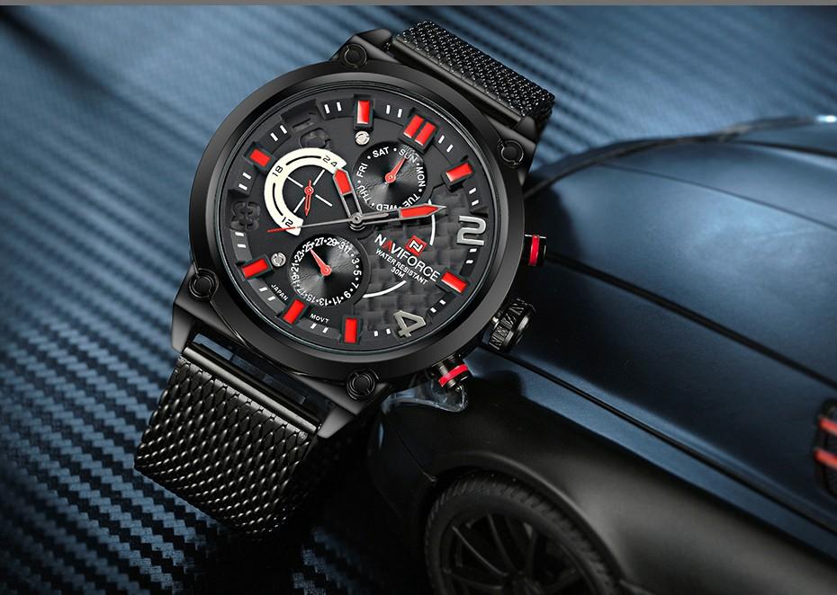 Naviforce NF9068 Men Analog Quartz Watch
