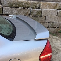 MONTFORD For Mazda 323 Spoiler 2002 2010 ABS Plastic Unpainted Color Rear Trunk Boot Wing Rear Roof Spoiler Car Accessories 1Pcs