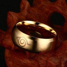 Men Ring Trendy New Fashion 2017 Finger Ring for Women Gold color Rings Engagement Wedding Rings