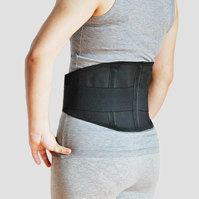 Las mujeres médicos menor corsé cinturón de cintura de la columna vertebral de apoyo los hombres transpirable Lumbar corsé ortopédico respaldo
