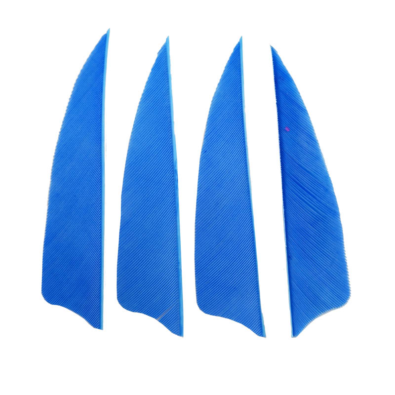 60pcs Archery Arrow Feather 3 quot Nature Arrow Turkey Feaching Vanes 5 Colors Bow Arrow Accessories in Bow amp Arrow from Sports amp Entertainment