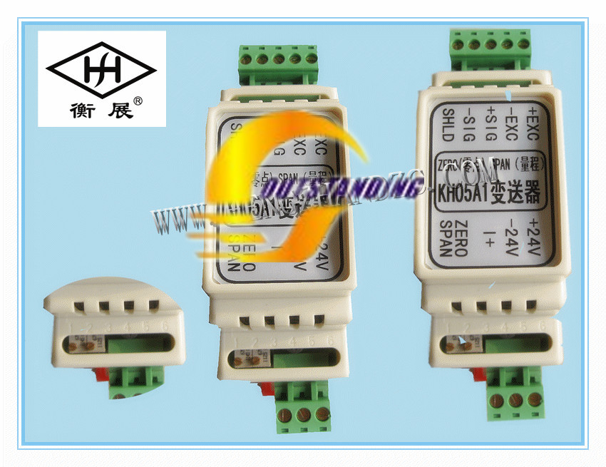 Free Shipping    Weight Transmitter KH05 0-10V 4-20MA Analog Output Rail Type Pick A Sensor
