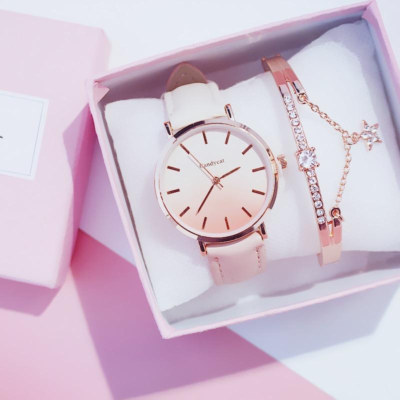 2019 Relogio Feminino Watch Women Casual Quartz Leather Band New Strap Watch Analog Wrist Watch Montre Femme Reloj Mujer