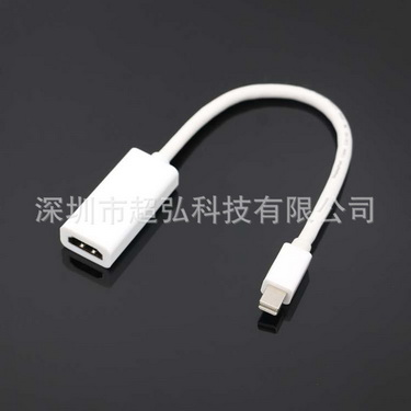 by dhl or ems 100pcs Mini DP to HDMI male to female converter Adapter Cable DisplayPort