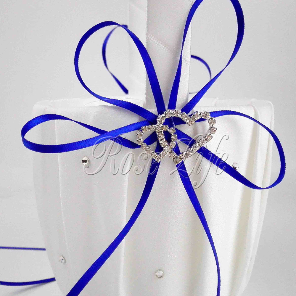 Royal Blue Flower Girl Baskets for Wedding Favors Basket Bridesmaid ...