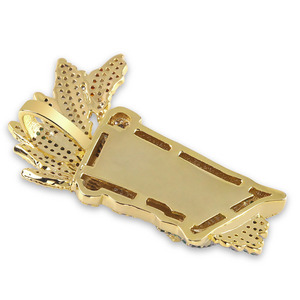 Image 3 - JINAO, кубический циркон, цепочка со льдом, Золотая мода, UKA ожерелье с подвеской маской, ювелирные изделия в стиле хип хоп, массивные ожерелья для мужчин и женщин, подарки