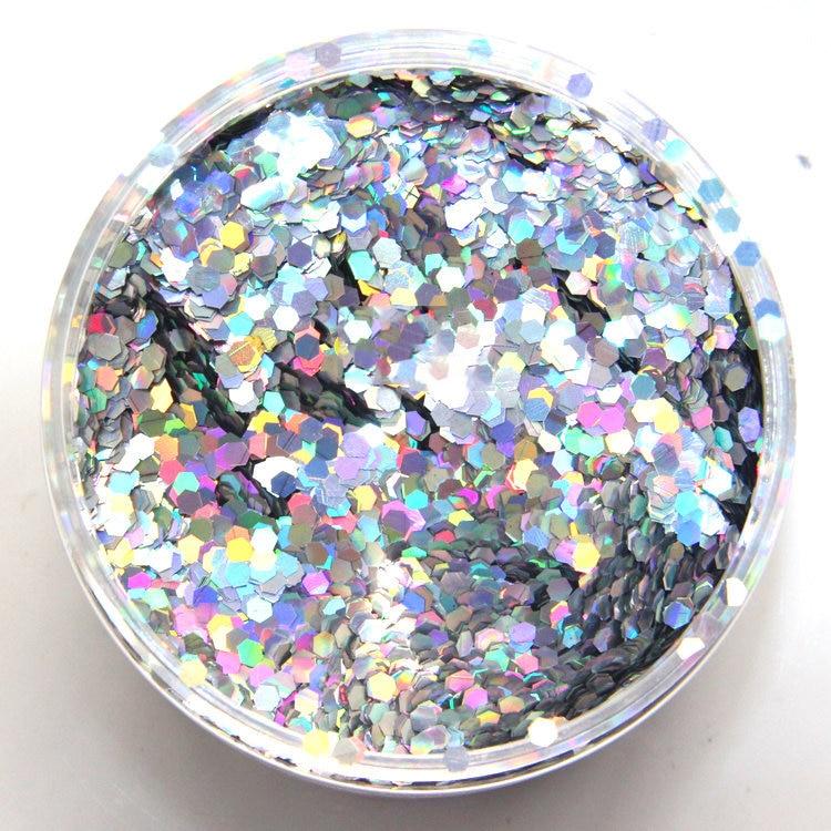 1yt6 Hell 1,76 Unze Für Glitter Nagel Kunst Glitter Nagellack Und Glitter Handwerk Hexagon Bunte Nagel Glitter Pailletten Für Maniküre